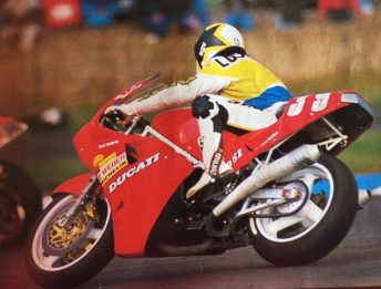 Superbike Compleanno, Lucchinelli
